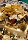 中華街のザーサイとピータン豆腐