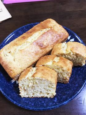 【バナナパウンドケーキ】グラノーラ入り♫