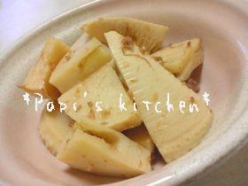 懐かしの味❤筍おかか煮(*´∇`*)