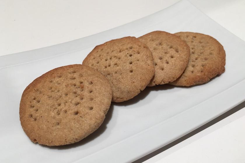 メープルシロップそば粉クッキー