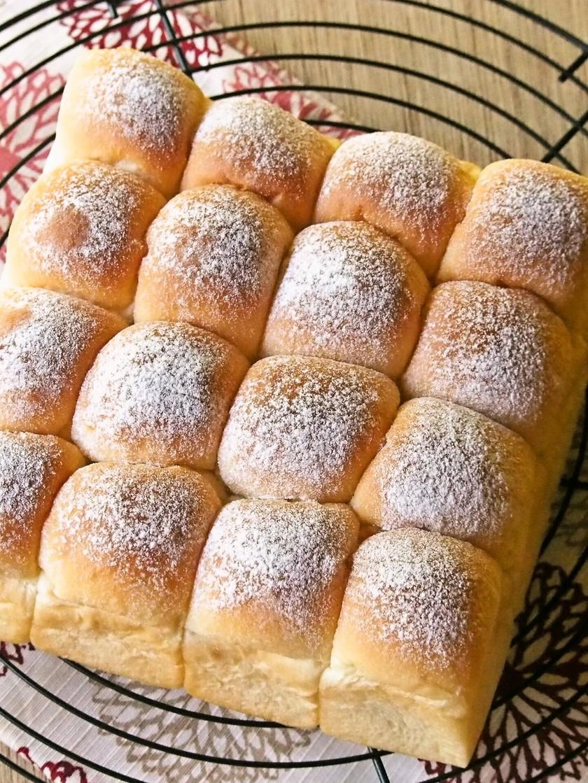 ふんわり幸せ♡はちみつミルクちぎりパン