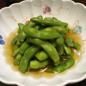 日本酒にも合う♬ 枝豆の浅漬け