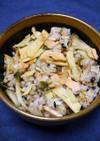 簡単!きざみ生姜の筍ご飯