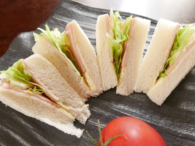 運動会お弁当★コナンのサンドイッチレシピ
