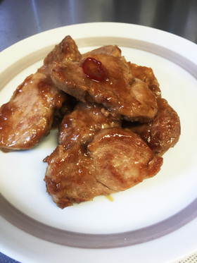 豚ヒレ肉のこっくり煮
