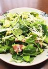 アボカドしらす野菜のヘルシー丼