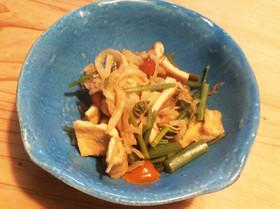 切り干し大根と山菜の煮物