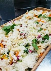 白だしで簡単手抜き桜香る鯛と筍ご飯