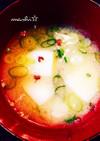 味噌汁に 花椒を♡