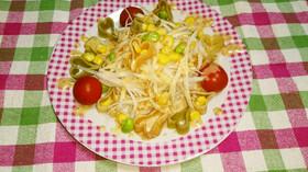 まるごと大根のマカロニサラダ