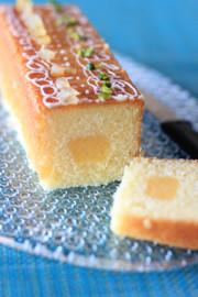 レモンクリームパウンドの写真