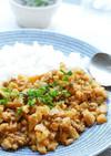 超簡単♬筍の甘辛ひき肉丼