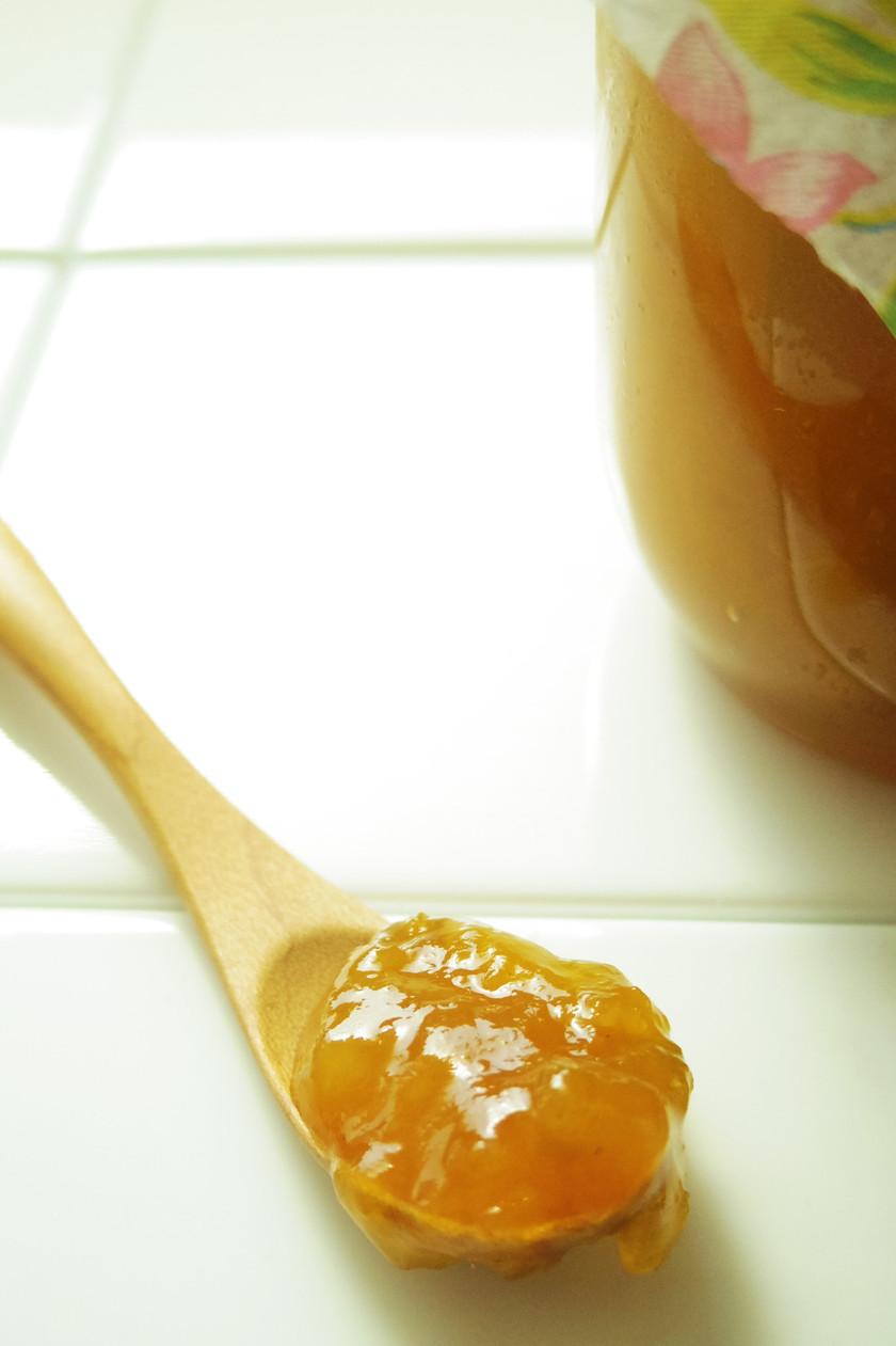 梅シロップの梅をリメイク☆梅ジャム