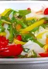 ワンルームご飯★作りおき彩り野菜炒め