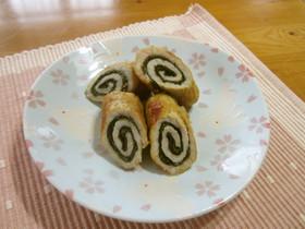 お弁当に♪海苔&大葉の豚肉ロール