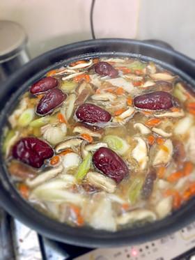 補血紅棗枸杞湯 薬膳スープ