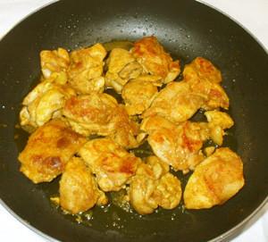 簡単なタンドリーチキン+生姜♪鶏もも肉で