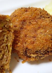 CookDo回鍋肉を使って味付メンチカツ