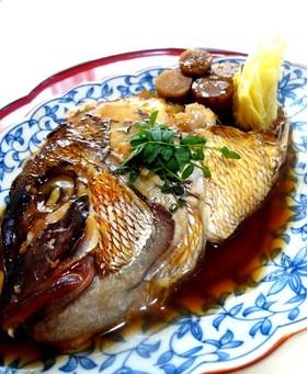 鯛のかぶと煮(あら炊き)