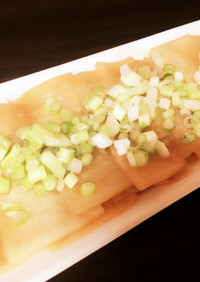 【簡単】レンジで大根のバター醤油【時短】