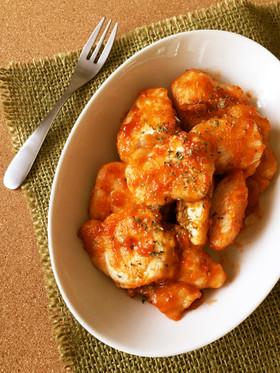 作り置き*鶏むね肉の柚子胡椒ケチャップ♪