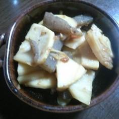 竹の子の醤油麹炒め
