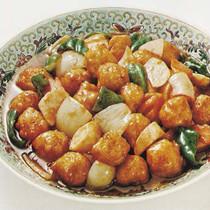 糖醋蟹丸(ダンツーシェグワン)