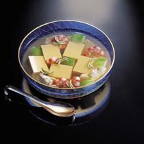 卵豆腐の冷やし鉢