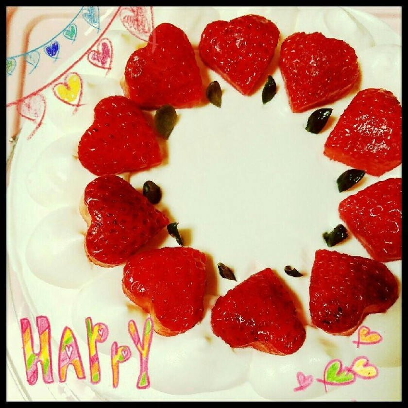 ☆イチゴショートケーキ☆誕生日・お祝いに
