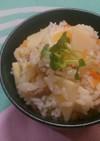 筍とかしわの炊き込みご飯