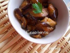 お弁当やおつまみに最適★茄子のカレー炒め
