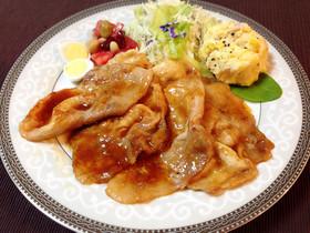 お弁当♪簡単♬やわらか生姜焼き*特製タレ