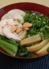タイの屋台料理「バミー」(簡単ラーメン)