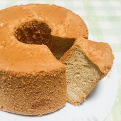 しっとり♪米粉と黒糖のシフォンケーキ