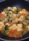 残った焼売+麻婆豆腐+残り野菜リメイク