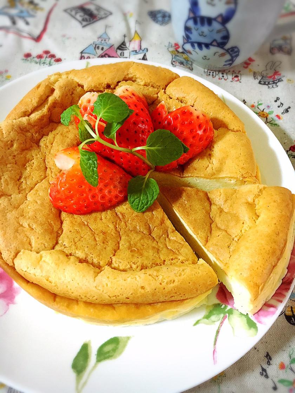 お砂糖なし!低糖質バニラチーズケーキ