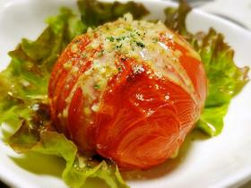 ◆まるごと焼きトマトのジューシーサラダ◆