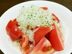 玉葱たっぷり~♡トマトのサラダ