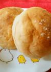 飲むヨーグルトで塩パン レアシュガー使用