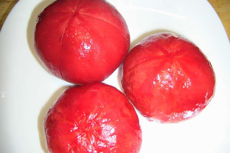 皮 むき 簡単 トマト