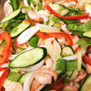 常備菜♡むきえびと野菜たっぷりマリネ
