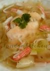 鱈のスープ, グリーン・カレー・ペースト
