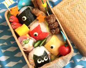 簡単☆鯉のぼり弁当☆子供の日☆キャラ弁