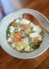 おなかにやさしい豚肉と豆腐のとろみ炒め