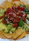 タコス味のポテチを使ったメキシカンサラダ