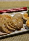 焼肉のたれで簡単鶏チャーシュー(レンジ)