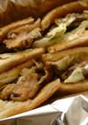 宮崎地鶏の焼き鳥トーストサンド
