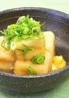 高野豆腐の葛あん(精進料理)