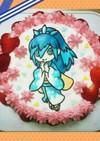 妖怪ウォッチ★キャラケーキ ふぶき姫