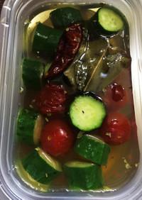 【常備菜】浅漬けの素でかんたんピクルス